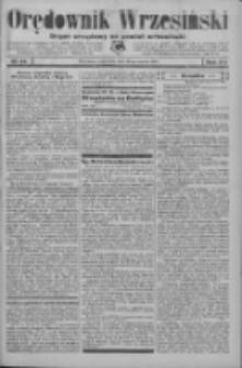 Orędownik Wrzesiński: organ urzędowy na powiat wrzesiński 1934.03.22 R.16 Nr34