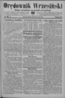 Orędownik Wrzesiński: organ urzędowy na powiat wrzesiński 1934.03.24 R.16 Nr35