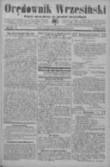 Orędownik Wrzesiński: organ urzędowy na powiat wrzesiński 1934.03.29 R.16 Nr37