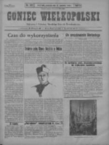 Goniec Wielkopolski: najstarszy i najtańszy niezależny dziennik demokratyczny 1930.09.28 R.54 Nr225