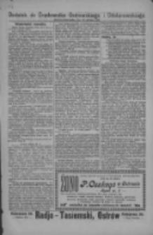 Dodatek do Orędownika Ostrowskiego i Odolanowskiego 1927.12.23