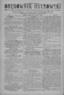 Orędownik Ostrowski: pismo na miasto i powiaty Ostrowski i Odolanowski oraz miast Ostrowa, Odolanowa, Sulmierzyc i Raszkowa 1928.01.20 R.77 Nr6