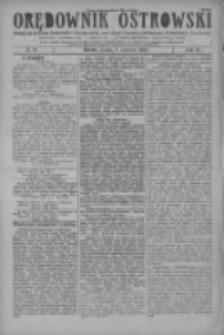 Orędownik Ostrowski: pismo na miasto i powiaty Ostrowski i Odolanowski oraz miast Ostrowa, Odolanowa, Sulmierzyc i Raszkowa 1928.06.08 R.77 Nr46