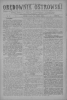 Orędownik Ostrowski: pismo na miasto i powiaty Ostrowski i Odolanowski oraz miast Ostrowa, Odolanowa, Sulmierzyc i Raszkowa 1928.06.12 R.77 Nr47