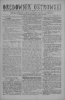 Orędownik Ostrowski: pismo na miasto i powiaty Ostrowski i Odolanowski oraz miast Ostrowa, Odolanowa, Sulmierzyc i Raszkowa 1928.07.31 R.77 Nr61