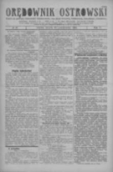 Orędownik Ostrowski: pismo na miasto i powiaty Ostrowski i Odolanowski oraz miast Ostrowa, Odolanowa, Sulmierzyc i Raszkowa 1928.10.30 R.77 Nr87