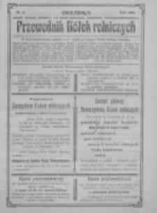 """Przewodnik """"Kółek rolniczych"""". R. XX. 1906. Nr 6"""
