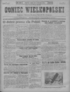 Goniec Wielkopolski: najstarszy i najtańszy niezależny dziennik demokratyczny 1930.11.07 R.54 Nr258