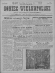 Goniec Wielkopolski: najstarszy i najtańszy niezależny dziennik demokratyczny 1930.11.19 R.54 Nr268