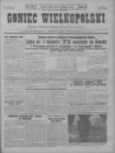 Goniec Wielkopolski: najstarszy i najtańszy niezależny dziennik demokratyczny 1930.11.25 R.54 Nr273