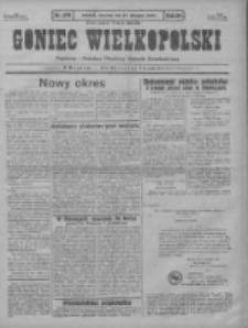 Goniec Wielkopolski: najstarszy i najtańszy niezależny dziennik demokratyczny 1930.11.27 R.54 Nr275