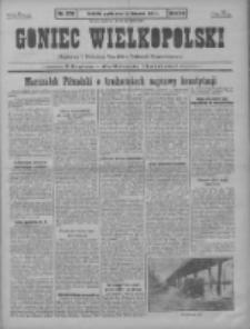 Goniec Wielkopolski: najstarszy i najtańszy niezależny dziennik demokratyczny 1930.11.28 R.54 Nr276