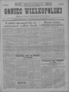 Goniec Wielkopolski: najstarszy i najtańszy niezależny dziennik demokratyczny 1930.11.29 R.54 Nr277
