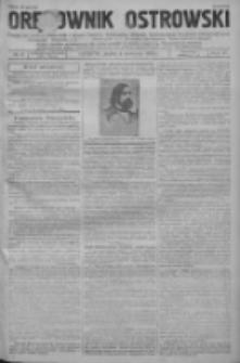 Orędownik Ostrowski: pismo na powiat ostrowski i miasto Ostrów, Odolanów, Mikstat, Sulmierzyce, Raszków i Skalmierzyce 1938.04.06 R.87 Nr41