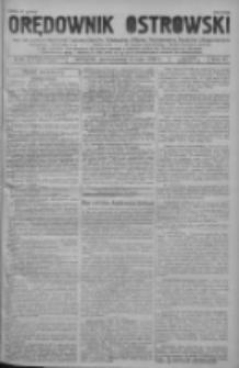 Orędownik Ostrowski: pismo na powiat ostrowski i miasto Ostrów, Odolanów, Mikstat, Sulmierzyce, Raszków i Skalmierzyce 1938.05.16 R.87 Nr58