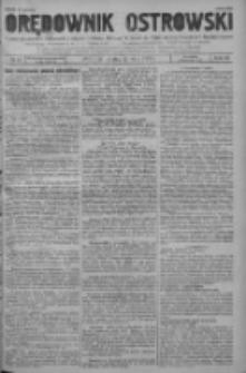 Orędownik Ostrowski: pismo na powiat ostrowski i miasto Ostrów, Odolanów, Mikstat, Sulmierzyce, Raszków i Skalmierzyce 1938.05.27 R.87 Nr63