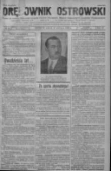Orędownik Ostrowski: pismo na powiat ostrowski i miasto Ostrów, Odolanów, Mikstat, Sulmierzyce, Raszków i Skalmierzyce 1938.06.10 R.87 Nr69