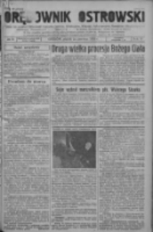 Orędownik Ostrowski: pismo na powiat ostrowski i miasto Ostrów, Odolanów, Mikstat, Sulmierzyce, Raszków i Skalmierzyce 1938.06.24 R.87 Nr75