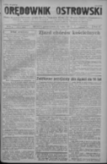 Orędownik Ostrowski: pismo na powiat ostrowski i miasto Ostrów, Odolanów, Mikstat, Sulmierzyce, Raszków i Skalmierzyce 1938.07.11 R.87 Nr82