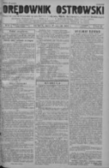 Orędownik Ostrowski: pismo na powiat ostrowski i miasto Ostrów, Odolanów, Mikstat, Sulmierzyce, Raszków i Skalmierzyce 1938.08.17 R.87 Nr98