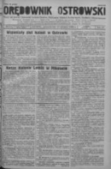 Orędownik Ostrowski: pismo na powiat ostrowski i miasto Ostrów, Odolanów, Mikstat, Sulmierzyce, Raszków i Skalmierzyce 1938.08.22 R.87 Nr100