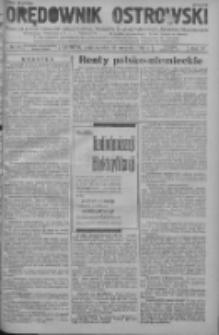 Orędownik Ostrowski: pismo na powiat ostrowski i miasto Ostrów, Odolanów, Mikstat, Sulmierzyce, Raszków i Skalmierzyce 1938.08.29 R.87 Nr103