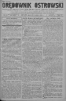 Orędownik Ostrowski: pismo na powiat ostrowski i miasto Ostrów, Odolanów, Mikstat, Sulmierzyce, Raszków i Skalmierzyce 1938.09.02 R.87 Nr105