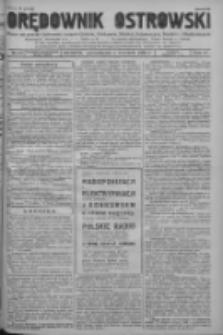 Orędownik Ostrowski: pismo na powiat ostrowski i miasto Ostrów, Odolanów, Mikstat, Sulmierzyce, Raszków i Skalmierzyce 1938.09.05 R.87 Nr106