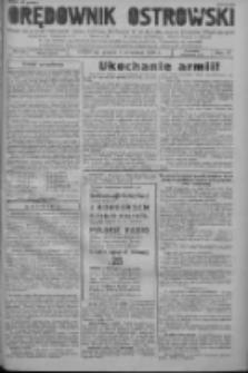 Orędownik Ostrowski: pismo na powiat ostrowski i miasto Ostrów, Odolanów, Mikstat, Sulmierzyce, Raszków i Skalmierzyce 1938.09.09 R.87 Nr108