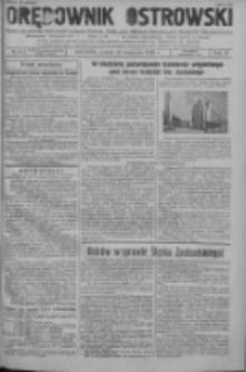 Orędownik Ostrowski: pismo na powiat ostrowski i miasto Ostrów, Odolanów, Mikstat, Sulmierzyce, Raszków i Skalmierzyce 1938.09.23 R.87 Nr114