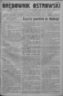 Orędownik Ostrowski: pismo na powiat ostrowski i miasto Ostrów, Odolanów, Mikstat, Sulmierzyce, Raszków i Skalmierzyce 1938.10.03 R.87 Nr118