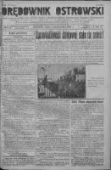 Orędownik Ostrowski: pismo na powiat ostrowski i miasto Ostrów, Odolanów, Mikstat, Sulmierzyce, Raszków i Skalmierzyce 1938.10.05 R.87 Nr119