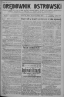 Orędownik Ostrowski: pismo na powiat ostrowski i miasto Ostrów, Odolanów, Mikstat, Sulmierzyce, Raszków i Skalmierzyce 1938.10.26 R.87 Nr128