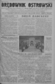 Orędownik Ostrowski: pismo na powiat ostrowski i miasto Ostrów, Odolanów, Mikstat, Sulmierzyce, Raszków i Skalmierzyce 1938.10.31 R.87 Nr130