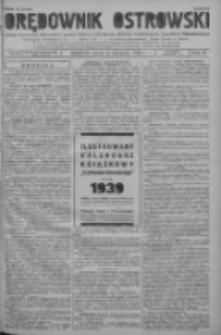Orędownik Ostrowski: pismo na powiat ostrowski i miasto Ostrów, Odolanów, Mikstat, Sulmierzyce, Raszków i Skalmierzyce 1938.11.16 R.87 Nr137