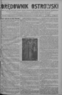 Orędownik Ostrowski: pismo na powiat ostrowski i miasto Ostrów, Odolanów, Mikstat, Sulmierzyce, Raszków i Skalmierzyce 1938.11.21 R.87 Nr139