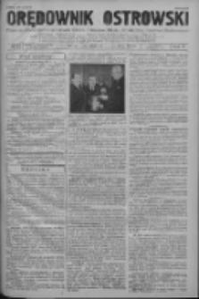 Orędownik Ostrowski: pismo na powiat ostrowski i miasto Ostrów, Odolanów, Mikstat, Sulmierzyce, Raszków i Skalmierzyce 1938.12.12 R.87 Nr148