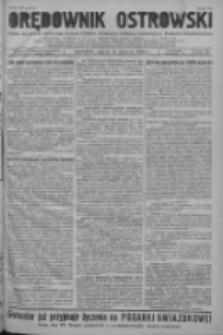 Orędownik Ostrowski: pismo na powiat ostrowski i miasto Ostrów, Odolanów, Mikstat, Sulmierzyce, Raszków i Skalmierzyce 1938.12.16 R.87 Nr150