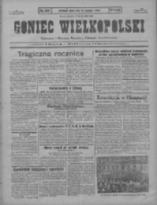 Goniec Wielkopolski: najstarszy i najtańszy niezależny dziennik demokratyczny 1930.12.17 R.54 Nr291