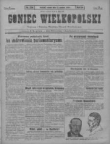 Goniec Wielkopolski: najstarszy i najtańszy niezależny dziennik demokratyczny 1930.12.23 T.54 Nr296