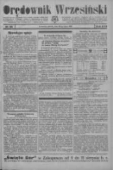 Orędownik Wrzesiński 1935.07.20 R.17 Nr85