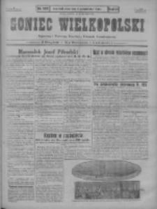 Goniec Wielkopolski: najstarszy i najtańszy niezależny dziennik demokratyczny 1930.10.08 R.54 Nr233