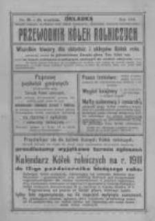 """Przewodnik """"Kółek rolniczych"""". R. XXIV. 1910. Nr 28"""