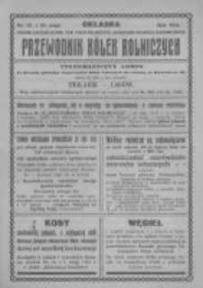 """Przewodnik """"Kółek rolniczych"""". R. XXVIII. 1914. Nr 15"""