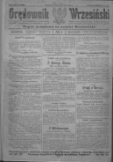 Orędownik Wrzesiński: organ urzędowy na powiat wrzesiński 1922.01.03 R.4 Nr1