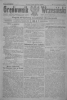 Orędownik Wrzesiński: organ urzędowy na powiat wrzesiński 1922.01.10 R.4 Nr4