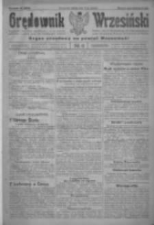 Orędownik Wrzesiński: organ urzędowy na powiat wrzesiński 1922.01.14 R.4 Nr6