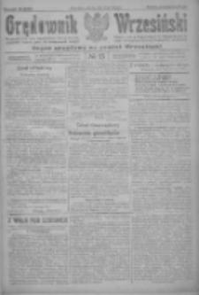 Orędownik Wrzesiński: organ urzędowy na powiat wrzesiński 1922.01.31 R.4 Nr13