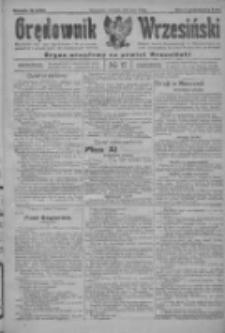 Orędownik Wrzesiński: organ urzędowy na powiat wrzesiński 1922.02.09 R.4 Nr17