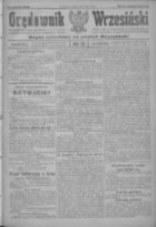 Orędownik Wrzesiński: organ urzędowy na powiat wrzesiński 1922.02.11 R.4 Nr18